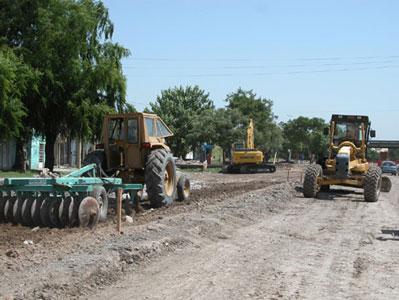 Trabajos de remodelación en ruta 197 - San Fernando