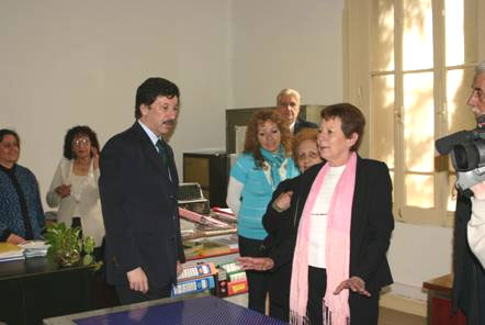 Remodelaron las instalaciones del Consejo Escolar de San Usidro