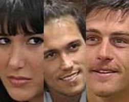Andrea, Esteban y Renzo quedaron nominados en Gran Hermano 5