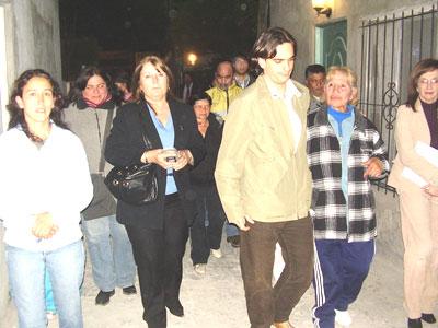 Sebastián Galmarini se reunió con los vecinos del barrio Ombú