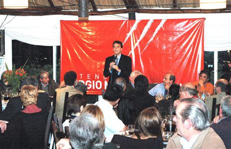 Sergio Massa presento sus propuestas ante los empresarios del Delta