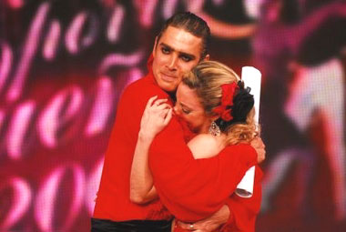 Matías Alé y Gisela Bernal se quedaron afuera de Bailando por un sueño