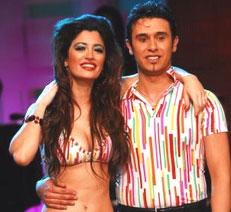 Carla Conte y Damián Duarte