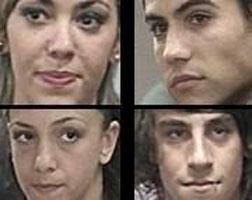 Soledad Melli, Javier Medina, Sebastián Graviotto y Florencia Tesouro quedaron a un paso de abandonar Gran Hermano 5