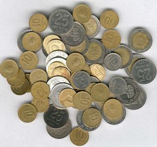 El Banco Central preocupado por la escases de monedas
