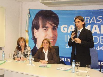 Sebastián Galmarini participo  de la jornada  San Isidro, desafíos para la próxima Gestión de Gobierno
