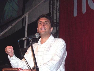Sergio Massa presento su plan de gobierno para El Talar