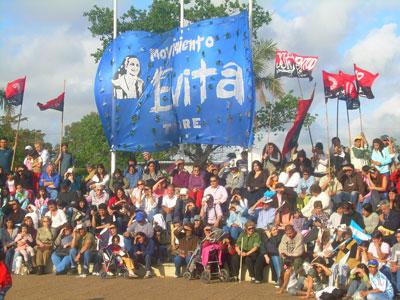 Homenaje y fiesta peronista en Don Torcuato