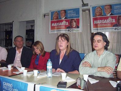 Margarita Stolbizer visitó Tigre