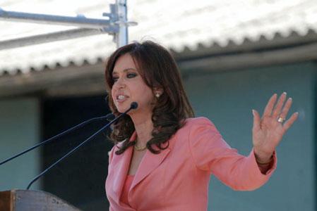 Cristina, inauguró el Hospital Maternidad Santa Rosa en Vicente lópez