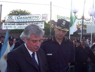 Casaretto y Nasrala firman acta de comodato