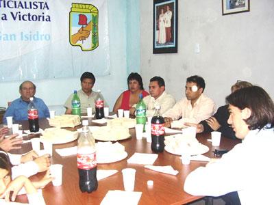 """Galmarini: """"la integración  que nos gustaría llevar a cabo en San Isidro no se limita a las distintas localidades""""."""