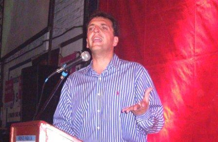 Sergio Massa presentó su plan de gobierno en Pacheco