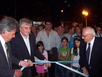 La municipalidad de Tigre Inauguró la plaza Hipólito Yrigoyen, en El Talar