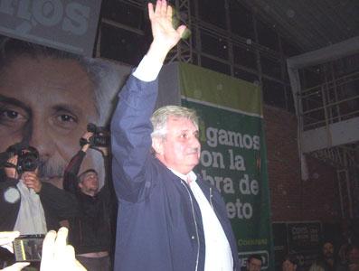 Casaretto cerró su campaña en Don Torcuato