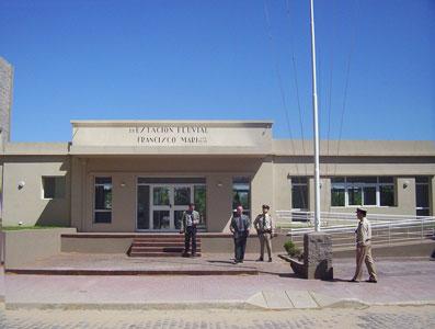 Nuevo edificio de la Prefectura en Canal San Fernando