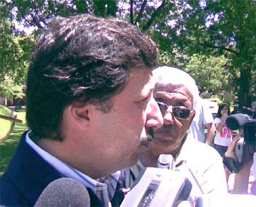 En San Isidro Posse votó en el SOIVA
