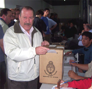 Amieiro Voto en el Instituto Don Orione. (Foto Archivo)