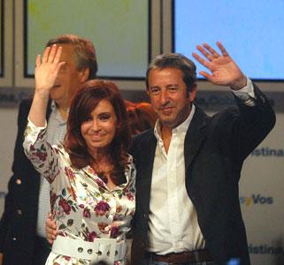 Cristina gana en primera vuelta y no hay ballottage.