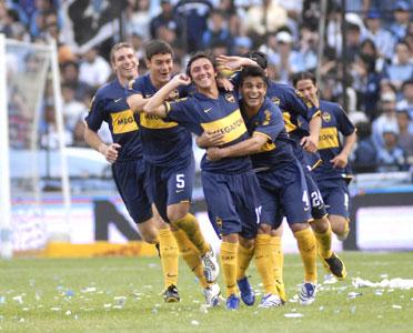 Un sólido Boca el ganó a Racing en Avellaneda