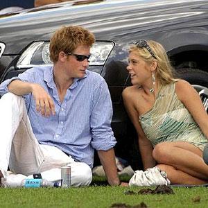 El príncipe Enrique de Inglaterra y su novia