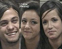 Juan Emilio, Soledad y Eugenia son los nominados en Gran Hermano 5