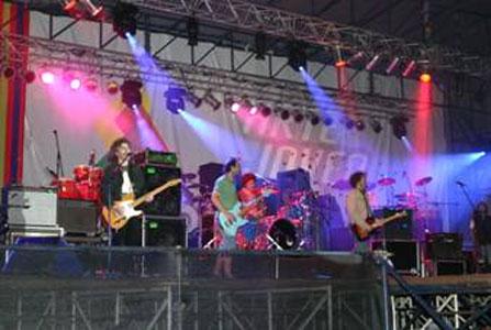 Se realizó el 5º festival de arte jóven en el Hipódromo de San Isidro