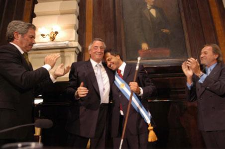 Scioli asumió como gobernador de la Provincia de Buenos Aires