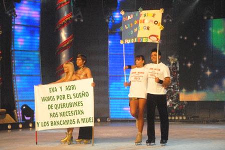 Ximena Capristo finalista de Patinando por un sueño