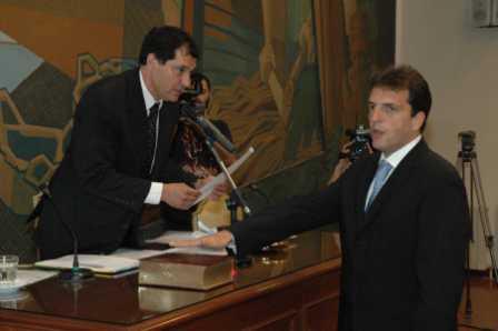 Massa juró como intendente de Tigre