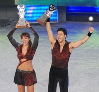 Ximena Capristo y Marcelo Porce son los ganadores de Patinando por un sueño