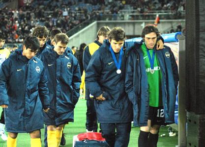 Boca no pudo con el Milan en la final del Mundial de Clubes 2007.