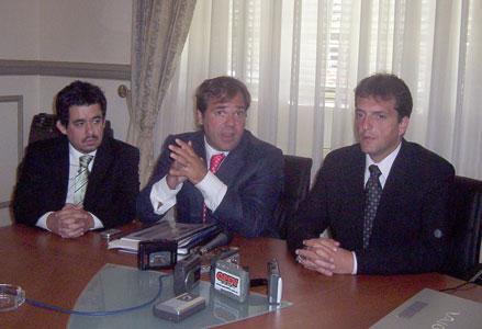 El intendente de Tigre se reunió con el jefe de gabinete de la provincia, Alberto Pérez