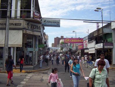 La calle Constitución será peatonal para las fiestas