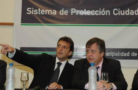 Massa y Stornelli lanzaron fuerte operativo de seguridad en Tigre