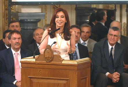 Cristina lanzó el programa de uso racional de la energía