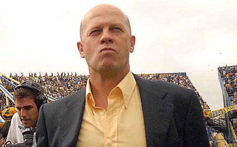 Carlos Ischia, director técnico de Boca Juniors