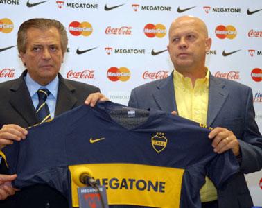 Carlos Ischia, flamante entrenador de Boca Juniors