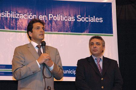 Sergio Massa y Julio Zamora
