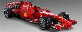 Ferrari presento el modelo 2008
