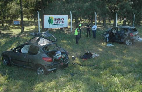 Cinco muertos en un accidente en la Autovia 2