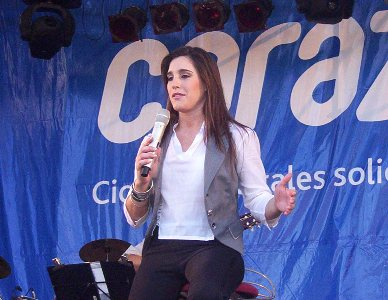 Soledad Pastorutti en su presentación en Tigre
