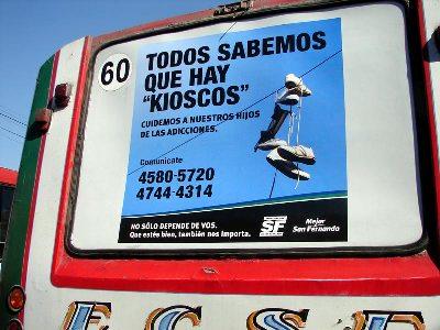 La municipalidad de San Fernando relanza su campaña de prevención de las adicciones