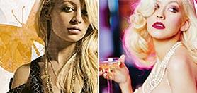 Chistina Aguilera y Nicole Richie fueron madres con apenas horas de diferencia