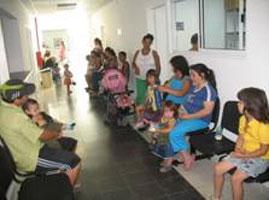 Comenzó a funcionar el servicio de pediatría del nuevo centro de salud de Beccar