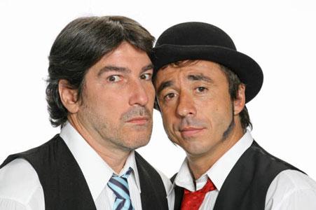 La dupla cómica de Pachu y Pablo se reencuentra en América