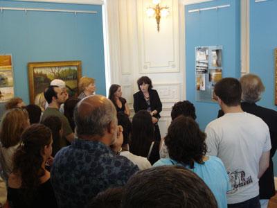Se inauguró la exposición sobre restauración y conservación del Museo de Arte Tigre