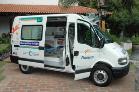 Tigre incorporó una nueva ambulancia para su servicio de emergencias (SET)