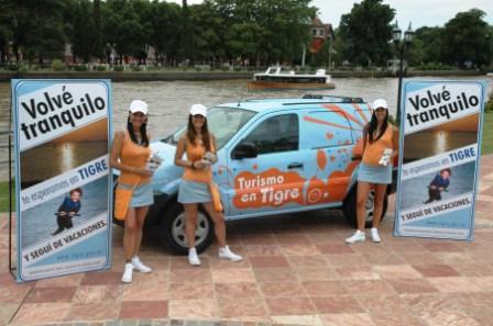 Massa lanza una campaña de prevención vial y promocinal de Tigre