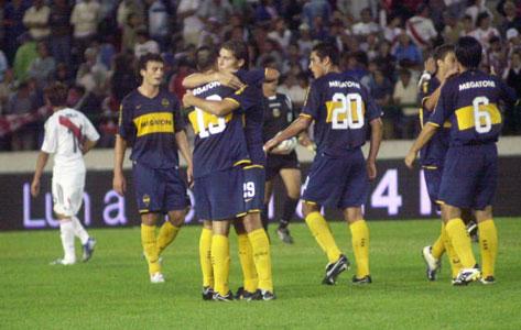 El primer Superclásico del año fue para Boca.